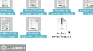 Como comprimir archivos en Mac