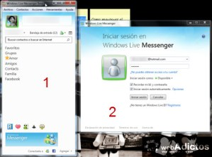 Abrir varias sesiones simultaneas en Windows Live Messenger Beta