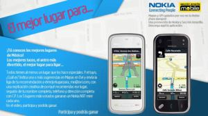 El mejor lugar para… concurso de Nokia