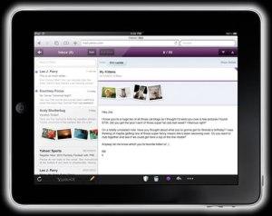 Correo yahoo para iPad