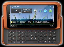 Nokia E7, Nokia C6 y Nokia C7 - Nokia-E7-naranja
