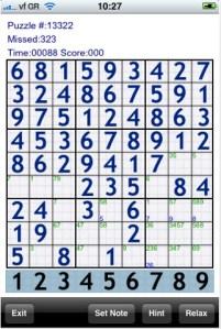 Juegos iPod/iPhone, Sudoku 20k