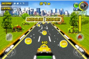 Juego para iPod/iPhone, Whacksy Taxi