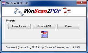 Escanear documentos a PDF, WinScan2PDF