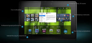 Demo en vivo de la PlayBook de BlackBerry