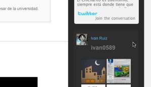 Insertar un widget de Twitpic en tu sitio
