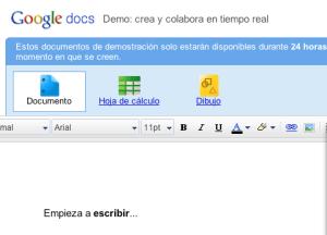 Google Docs añade colaboración en tiempo real