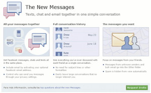 Como activar los nuevos mensajes de Facebook