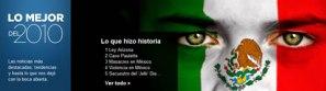 Lo más buscado en Yahoo! México en 2010