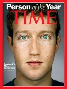 Mark Zuckerberg Personaje del año de la revista TIME
