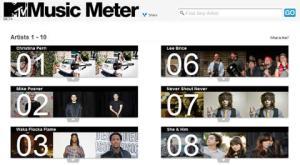 Descubre musica nueva en MTV Music Meter