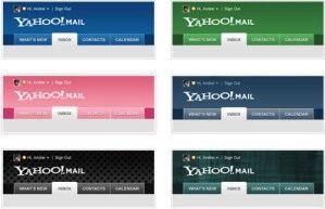 Yahoo Mail Beta ya tiene temas