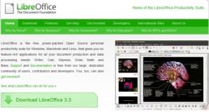 LibreOffice 3.3 disponible para descargar