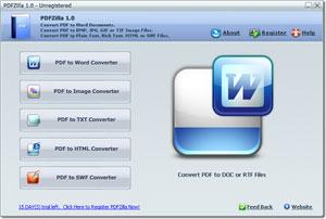 PDF a word con PDFZilla gratis por tiempo limitado