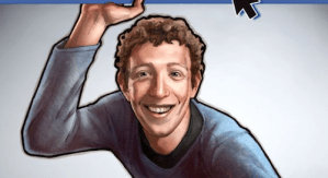 Sale a la venta cómic de Mark Zuckerberg