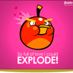 Postales para San Valentín de Angry Birds - Explode_Big