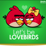 Postales para San Valentín de Angry Birds - LovebirdsBig