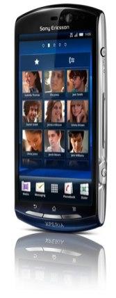 Sony Ericsson Xperia Neo - Xperia-neo-frente-negro