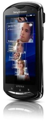 Sony Ericsson Xperia Pro - Xperia-pro-frente-Black