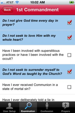 Confiesate desde tu iPhone gracias a Confession: A Roman Catholic App - confesarse-iphone