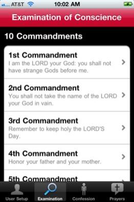 Confiesate desde tu iPhone gracias a Confession: A Roman Catholic App - confesiones-iphone