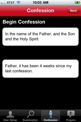 Confiesate desde tu iPhone gracias a Confession: A Roman Catholic App - confessions-catholic