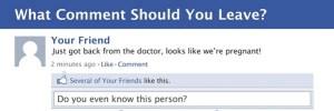 Qúe comentario hacer en Facebook? [diagrama de flujo]