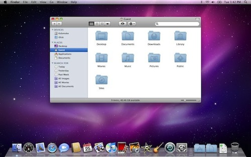 La historia de Mac OS X en imágenes - Snow_Leopard_Desktop