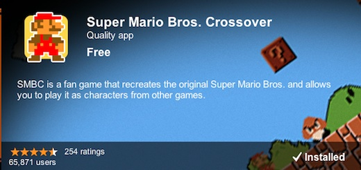 Descarga Super Mario Bros. Crossover para Google Chrome - Super-Mario-Bros.-Crossover-Chrome