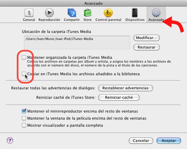itunes multiples bibliotecas 6 Cómo usar varias bibliotecas de iTunes en una sola computadora