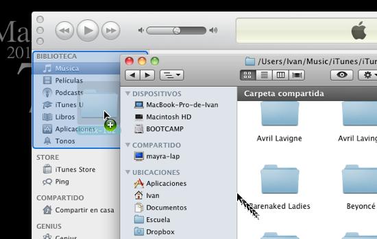 itunes multiples bibliotecas 7 Cómo usar varias bibliotecas de iTunes en una sola computadora