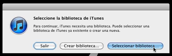 itunes multiples bibliotecas 8 Cómo usar varias bibliotecas de iTunes en una sola computadora