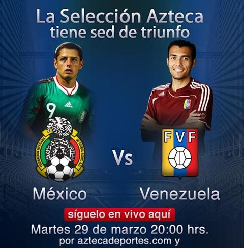 México vs Venezuela en vivo, amistoso internacional - mexico-venezuela-en-vivo-amistoso-2011