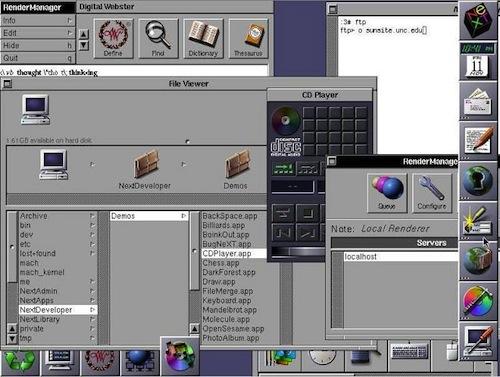 nextstep La historia de Mac OS X en imágenes