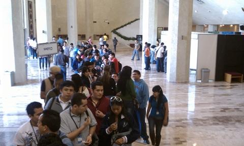 Experiencias del SISCTI 36, evento de tecnología del Tecnológico de Monterrey - siscti-36-dentro-auditorio