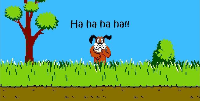 Dispara al perro de Duck Hunt [Juego Flash] - sshot4d935624983c3