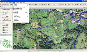 gvSIG, Sistema de Información Geográfica OpenSource - 800px-GvSIG_-_Geographic_Information_System-300x180