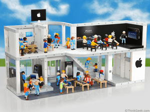 La Apple Store de Playmobil del día de los inocentes