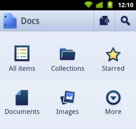 Google lanza una aplicación nativa de Google Docs para Android - Google-Docs-for-Android