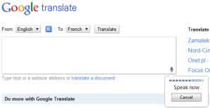 Google Translate ahora admite el uso de la Voz para traducir