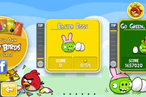 Nueva actualización de Angry Birds Seasons ahora celebra la Pascua