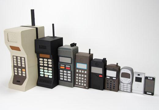 Recordando 5 celulares de antaño [Video] - cell_phone_nesting_dolls