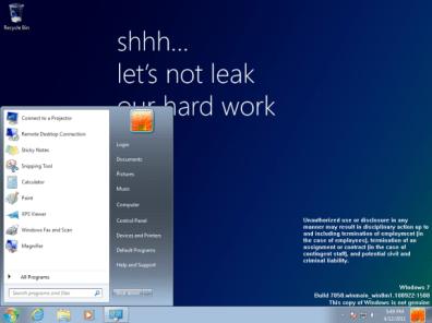 Se filtra en la red una versión preliminar de Windows 8 - i