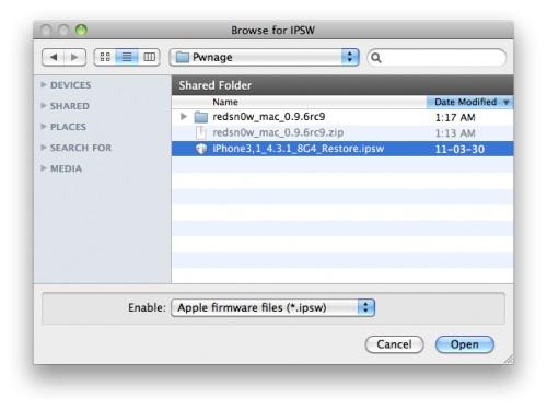 Como hacer Jailbreak untethered a iOS 4.3.1 con redsn0w - jailbreak-ios-4.3.1firmware