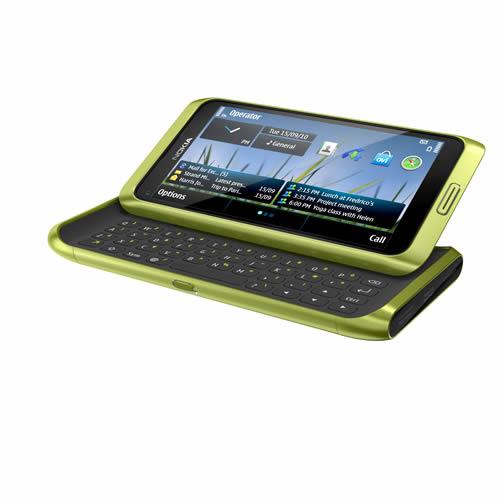 nokia e7 verde Nokia E7 en México