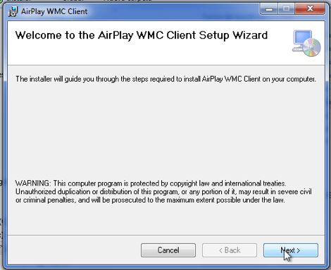 2011 05 29 12 34 46 Como activar Airplay en Windows Media Center