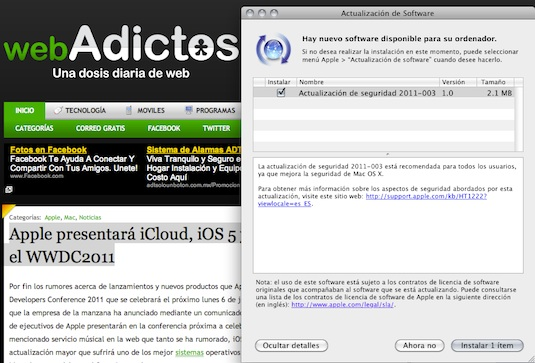 Actualización de Seguridad para Mac OS X que elimina MacDefender disponible para su descarga - Actualizacion-Mac-os-x-elimina-mac-defender