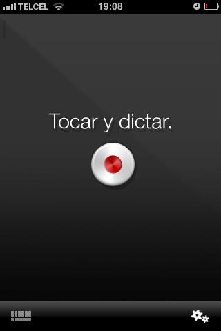 Dragon Dictation, díctale a tu iPhone - Foto-31-05-2011-19-08-49