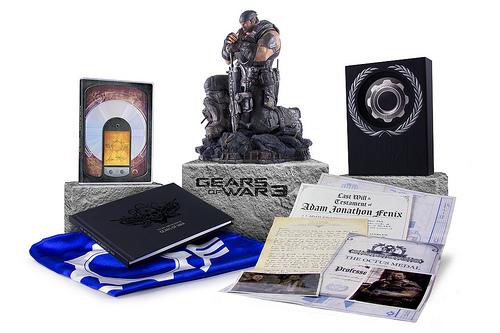 Impresionante contenido de las ediciones limitada y épica de Gears of War 3