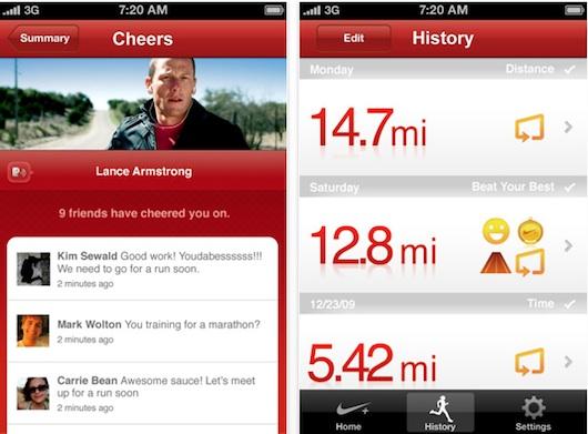 Nike+ GPS for iPhone Nike+ cumple 5 años y para celebrar pone gratis Nike+ GPS para iPhone por tiempo limitado